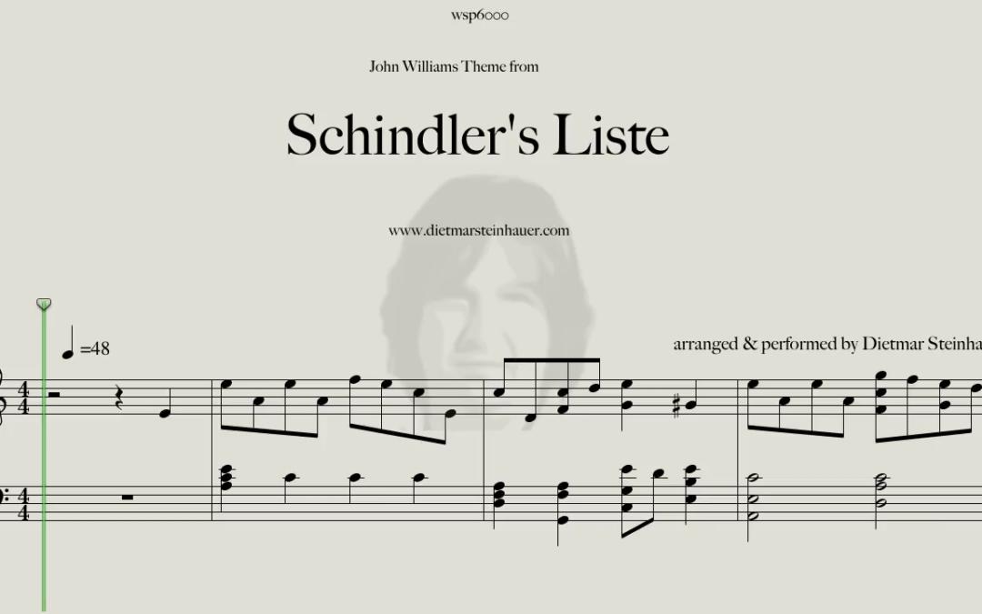 Schindler's Liste  –  John Williams