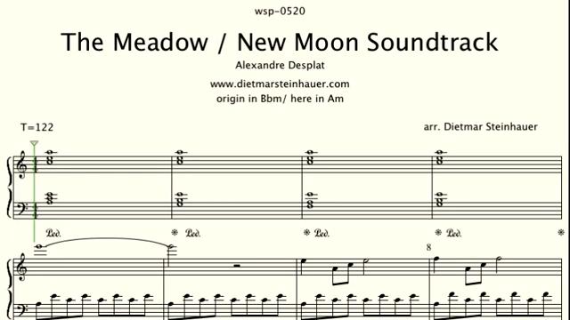 The Meadow  –  New Moon  Twilight Saga