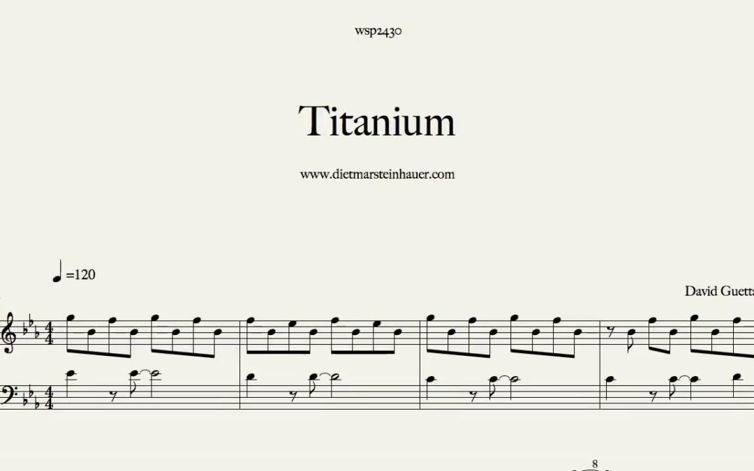 Titanium  –  David Guetta feat. Sia