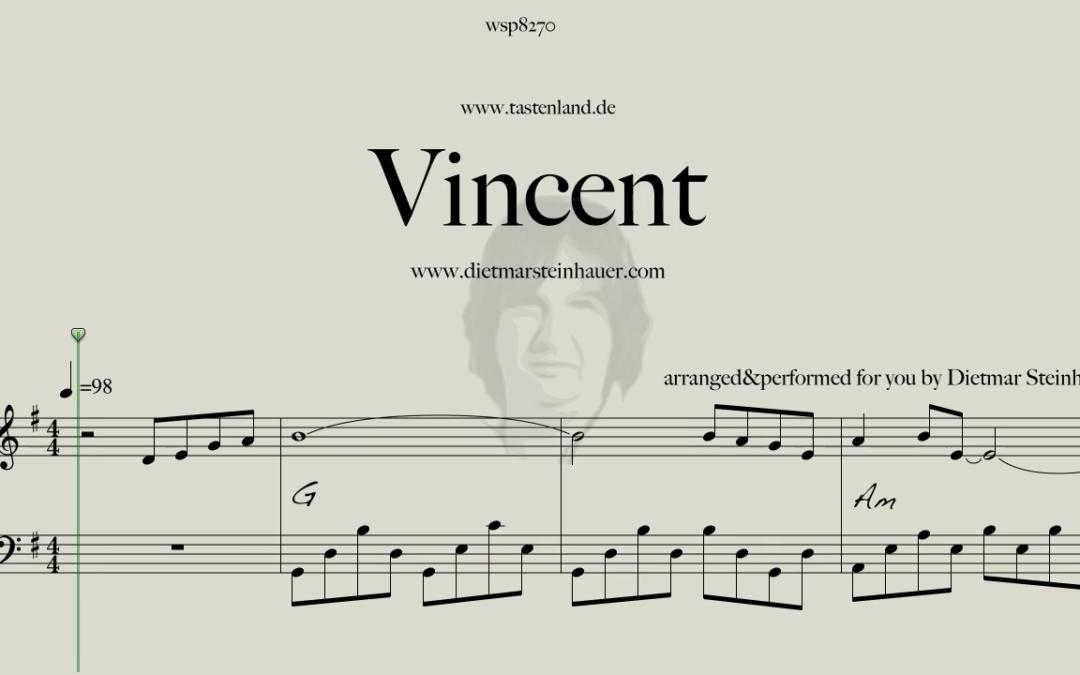 Vincent  –  Don Mclean