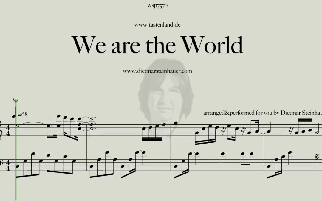 We are the World  –  Easy Piano