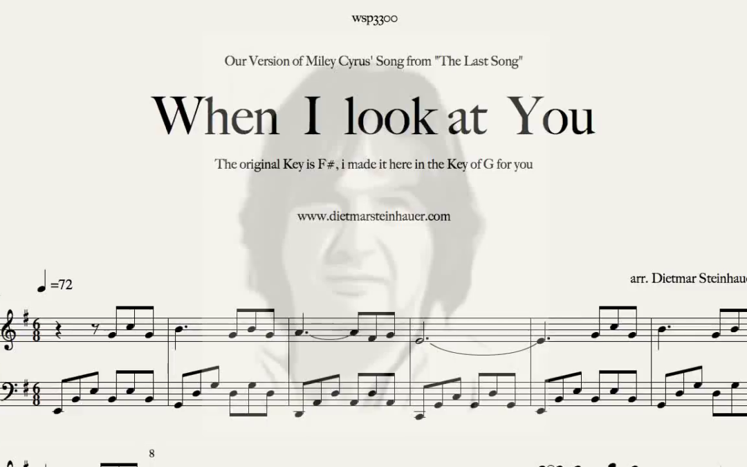When I look at You  –  Miley Cyrus