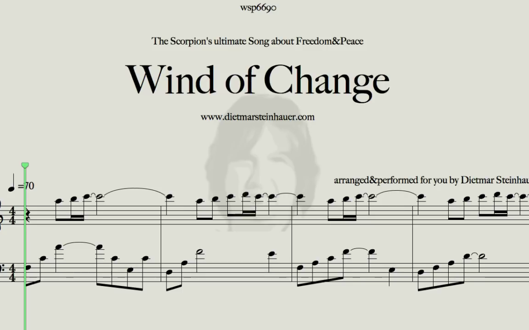 Wind of Change  –  The Scorpions