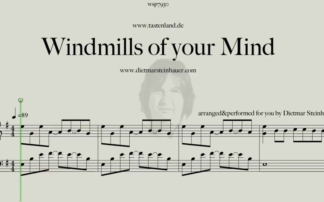 The Windmills of your Mind  –  Michel Legrand