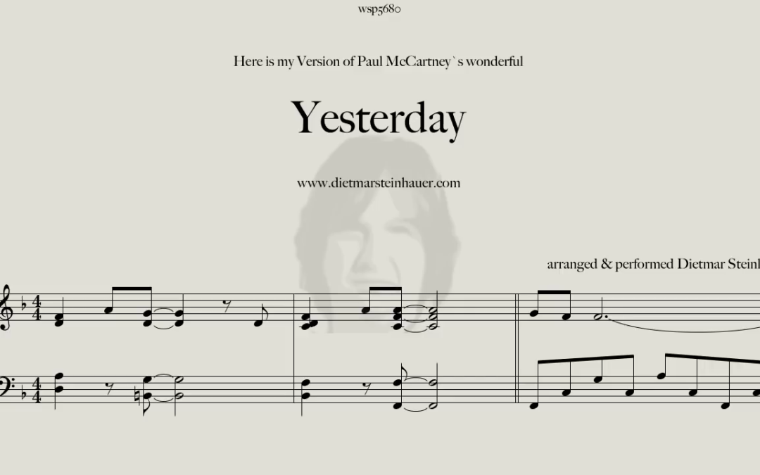 Yesterday  –  The Beatles