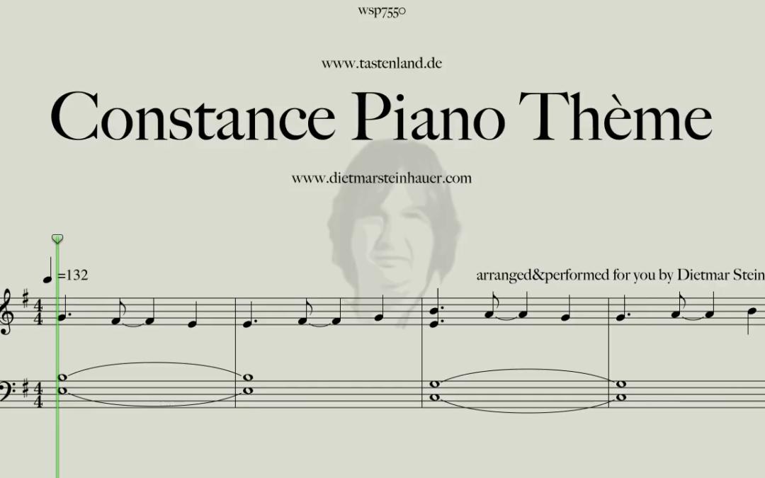 Constance Piano Theme  –  Laurent Aknin
