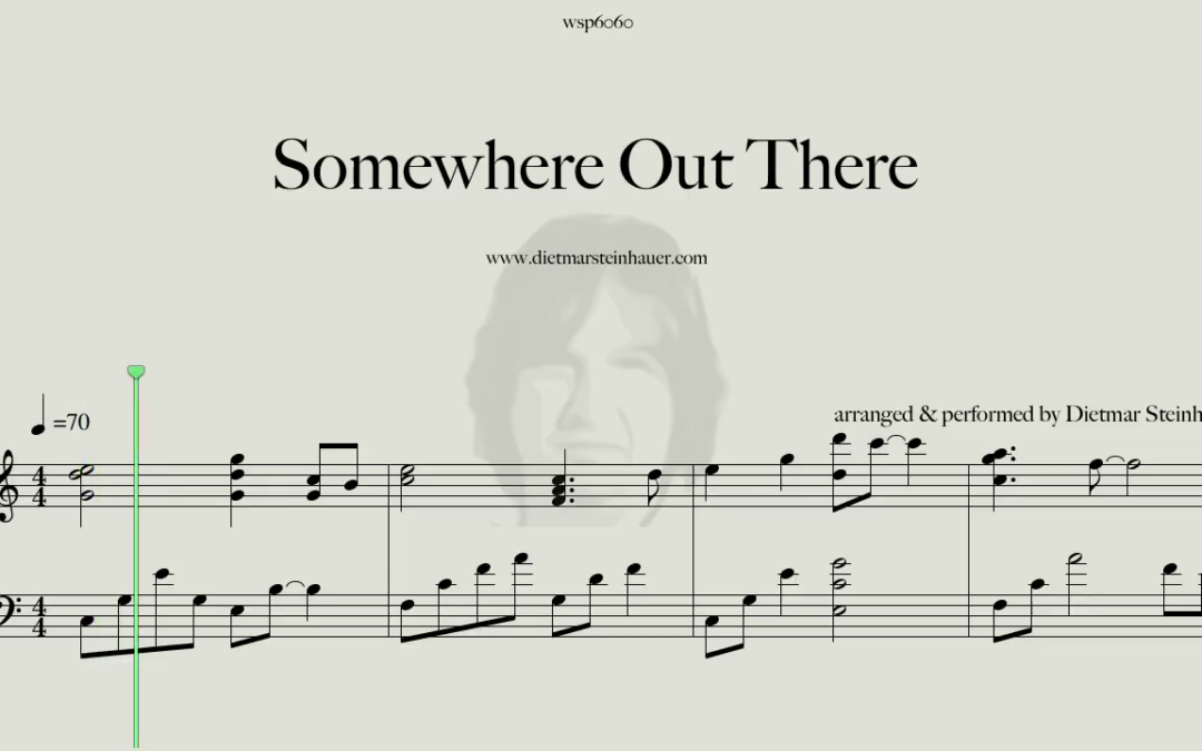 Somewhere out there  –  James Ingram
