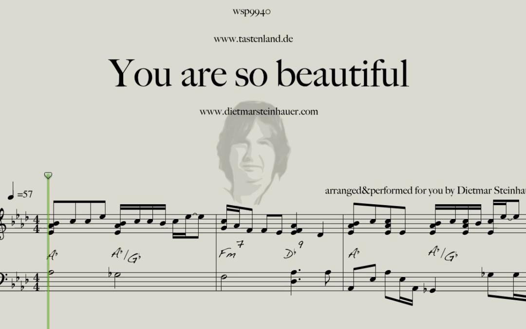 You are so beautiful  –  Joe Cocker