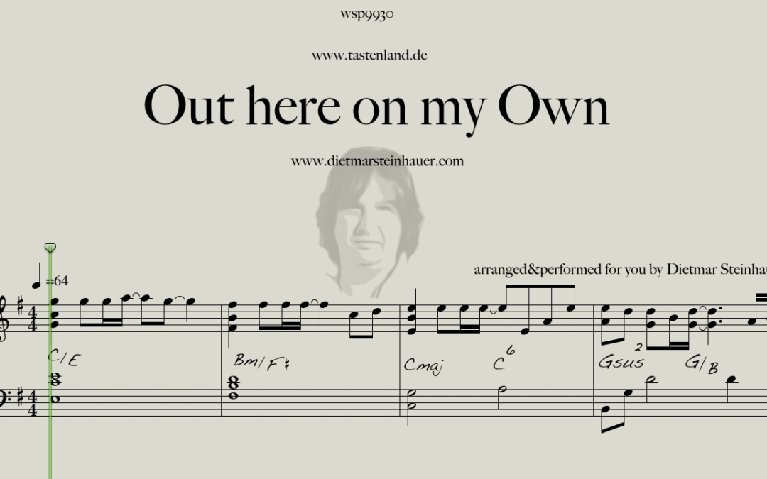 Out here on my Own  –  Irene Cara